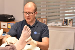 Photo of filing of feet - Podiatry - Foot Dynamics